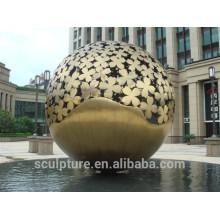 Escultura grande moderna del acero inoxidable 304 para la decoración al aire libre
