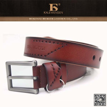 2015 China best quality formal wide belt for men