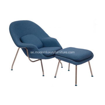Eero Saarinen Womb Chair & Ottoman Replica
