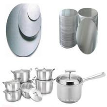 Küchenutensilien Aluminiumkreise