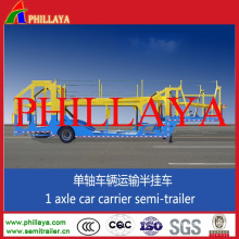 Double Axles Hydraulic Lifting System Car Carrier