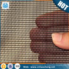 Resistencia de alta temperatura a la tela de malla de alambre de tungsteno de 3400 grados como elemento de calentamiento del horno de vacío