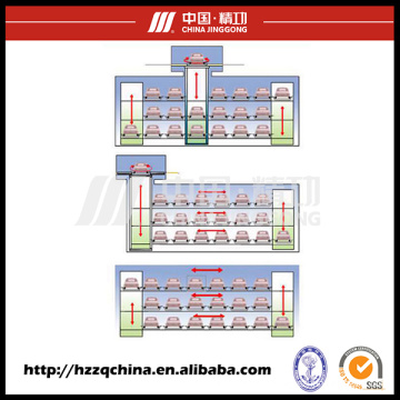 Commercial Stereo Garage, Automated Car Parking System and Paking Lift