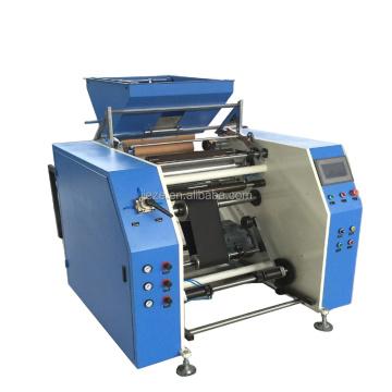High Precision Mini Plastic PE Stretch Machine Film Rewinder