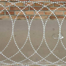 Bto-12 Flat Hot Dipped Galvanized Razor Barbed Wire