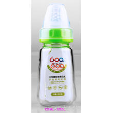 120ml Neutro Boroslicate Vidro Garrafa de Alimentação do Bebê