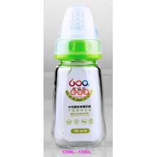 120ml vidrio Boroslicate neutro bebé biberón