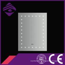 Jnh171 baño decorativos pared rectángulo punto LED espejo