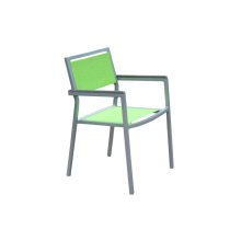 Cadeira de estrutura de alumínio para funda