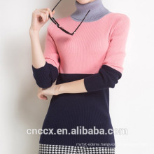 15STC6708 bamboo colorful cardigan sweater