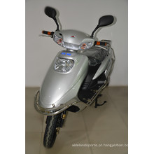 Motocicleta elétrica adulta do velomotor com o pedal de espaldar traseiro