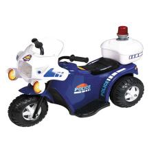 Simulation police moto enfants monter sur la voiture (10202008)