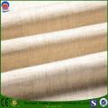 Linho / poliéster Black out cortina de tecido da fábrica Powful
