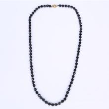 Ожерелье Черный Китай стеклянный бусины