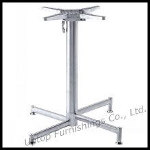 Base de table pliante à 4 broches en acier inoxydable (SP-STL056)