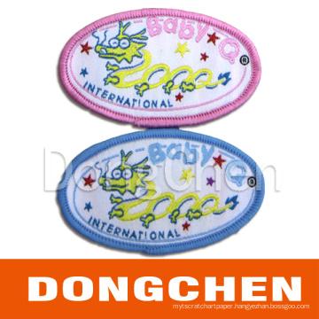 Cotton Fabric Label/ Cotton Woven Label/ Cotton Textlie Label (DC-WOV004)