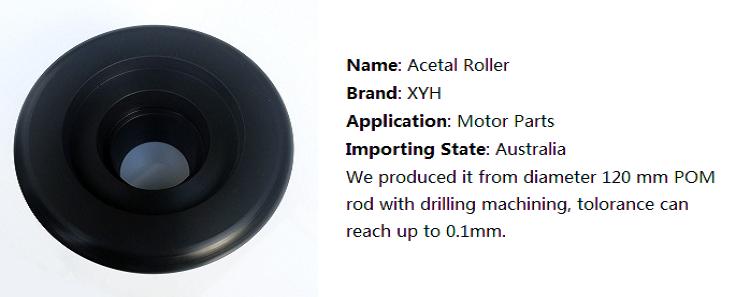 20mm White Acetal Parts