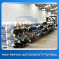 Поршневые штанги Телескопические гидравлические цилиндры для самосвала