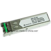 3ª Parte SFP-Fe-Zx Transceptor de fibra óptica Compatível com Switches Cisco