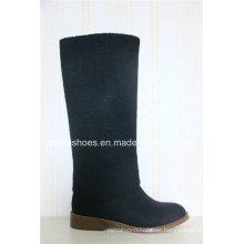 Neue Mode Design flache Ferse Frauen Winter Boot