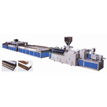 PVC-WPC-Holztürbrett-Extrusionslinie / Strangpressmaschine