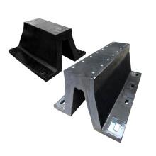 Customized size rubber arch fender/V type fender for dock