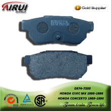 SEMI-METALLIC BRAKE PAD FOR HONDA CIVIC 1993-1996