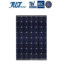 Paneles de energía solar mono de 195 vatios para iluminación LED de calle