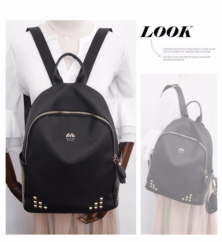 Oxford cloth backpack leisure
