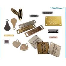 Personalised Metal Accessories Clothing Metal Lapel Pins Garment Labels