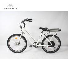 Chine fournisseur abordable plage électrique cruiser bicyclettes / beach cruiser ebike vélo