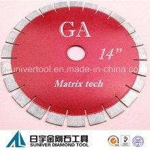 "Gp 14""*25mm Diamond Blade, Granite Blade"
