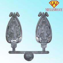 Fundición a presión de aluminio para la placa de la suela