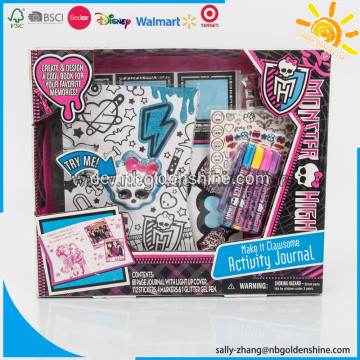Monster High Light-up Journal Tätigkeits-Set