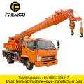 Offical Hydraulic Truck Cranes 6 Ton