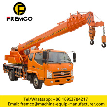 6 Ton Small Mobile Truck Cranes