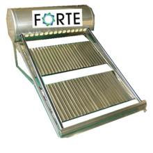 Colector solar térmico con tubo de calor