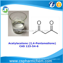 Acetylacetone 99.55% CAS 123-54-6, organic synthesis intermediate