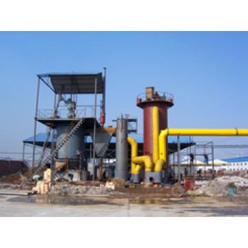 Gazéification de charbon froid Section unique