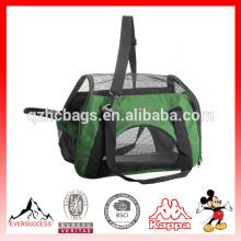 La bolsa de viaje plegable aprobada tamaño mediano de la línea aérea para el animal doméstico lleva (ES-Z291)