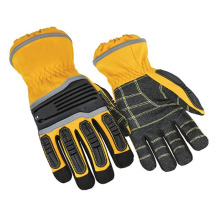 High Performance for Shockproof Gloves,Shock Resistant Gloves,Shock Gloves,Anti Vibration Gloves Manufacturers and Suppliers in China Full finger protective working anti-shock mechanic gloves export to Poland Supplier