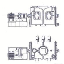 Mezclador tipo mezcladora LDH serie LDH, mezclador mezclador SS, mezcladora horizontal para tuercas y semillas