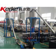 PE.EVA+CaCO3,talc,TiO2,Carbon Black Enforcing modification twin screw extruder process