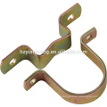 Pole assembly pole Steel clamps accessories galvanized pole hardware fitting steel pipe line clamps