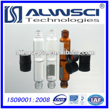 2ml 8-425 amber vial with label