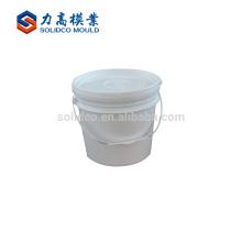 Alibaba mejor cubo al por mayor de la pintura del cubo molde plástico del cubo