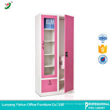 Luoyang Manufacturer Customized File Storage Steel Filing Cabinet with Shelf Design