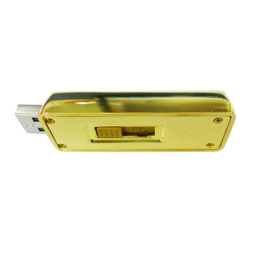 Metal Gold Bars USB Flash Drive with Logo