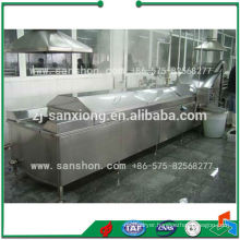 China Stainless Steel Vegetable Washing And Blanching Machine