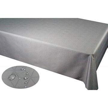 Pu coating Anti-fouling Fabric Tablecloth